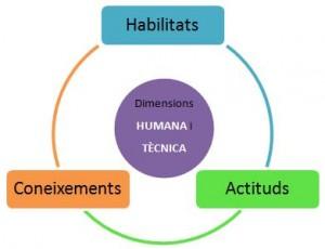 Habilitats, coneixements, actituds